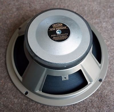 CELESTION G10 VINTAGE 80th ANNIVERSARY SPECIAL EDITION 60 WATT SPEAKER