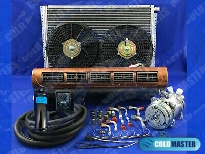 A/c-Kit Universal Under Dash Evaporator  Kit Air Conditioner 228-100 W 12V