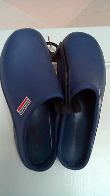 NEW - Royal Blue Garden Eva CLOGGIES by Town & Country--Size 6 UK / 39 Slip On
