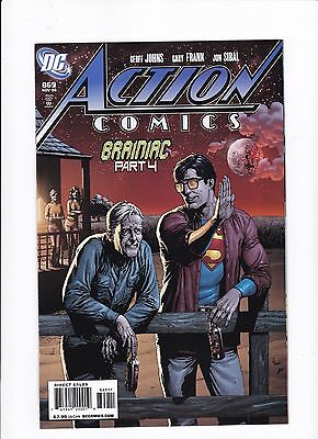 Action Comics #869 Recalled Beer Bottle Edition Cover VF/NM