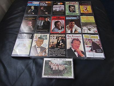 Job lot - A Collection of 16 Assorted Cassette Tapes