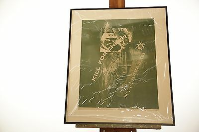 """William Weege Serigraph """"Kill A Commie For Christ"""" Signed & Numbered 14/25"""