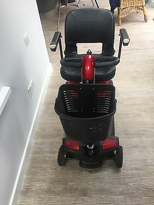 Apex rapid mobility red and blue scooter