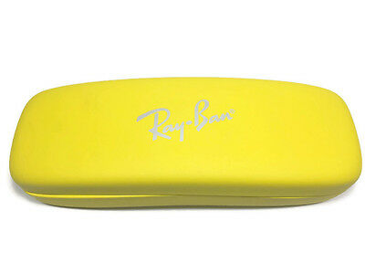 Ray Ban Jr Eyeglasses Sunglasses Glasses Yellow Hard Case ONLY