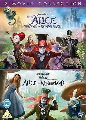 Alice in Wonderland/Alice Through the Looking Glass [DVD]