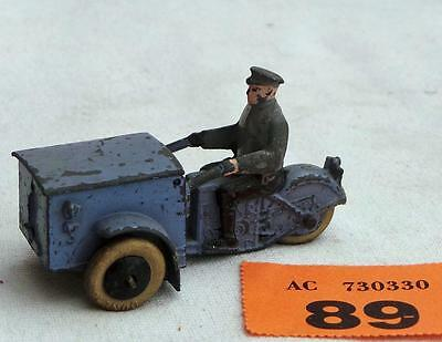 #89 French Dinky Triporteur 3 wheel delivery tricycle Pre-war