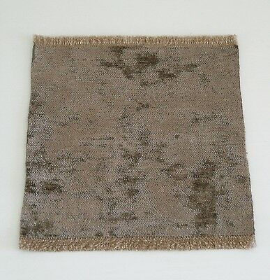 Brand New Rug With A Velvet Pile For A Dolls House (Otter)