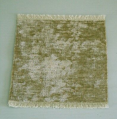 Brand New Rug With A Velvet Pile For A Dolls House (Lichen)