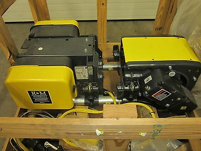 R & M Sx2 Spacemaster Low Headroom Wire Rope Hoist 2 Ton Robbins & Myers