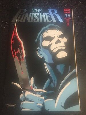 Punisher #75 Awesome Condition 7.5(1993) Geiger Cover!!