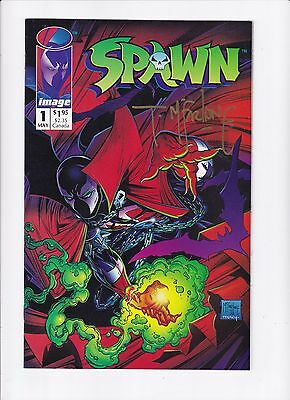 Spawn #1 First Print Signed by Todd McFarlane VF/NM