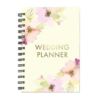 Mary Square Spiral Floral Wedding Planner