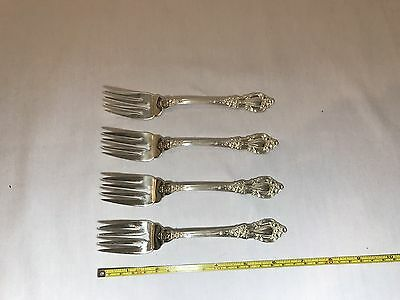 Lunt Eloquence Sterling Silver Salad Fork for Place Setting - Set of 4