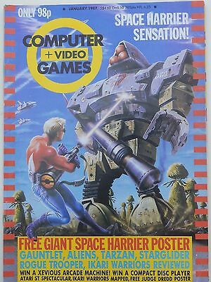 Computer and Video Games Magazine C&VG Jan 1987 (no poster)