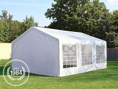 Garden Marquee 3x6 m Party Tent with Steelframe and Excellent Tarpaulin white