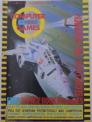 Computer and Video Games Magazine C&VG Feb 1987 (no poster)