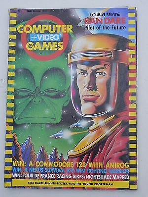 Computer and Video Games Magazine C&VG Nov 1985 (no poster)