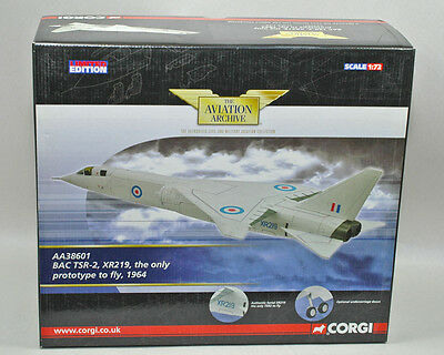 Corgi Aviation Archive AA38601 BAC TSR-2, XR219 Only prototype to fly '64 1:72