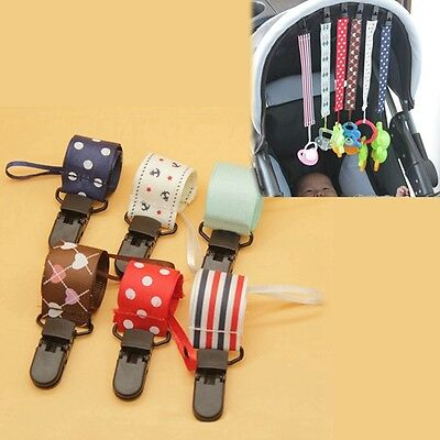 Newly Baby Pacifier Strap Toddler Clothes Hanging Dummy Leash Soother Chain Clip