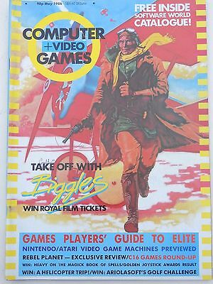Computer and Video Games Magazine C&VG May1986 (Includes poster)