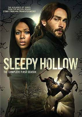 Sleepy Hollow: The Complete First Season (DVD, 2014, 4-Disc Set) Brand New