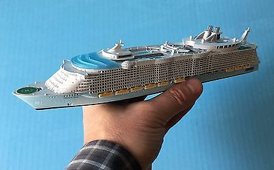 MODEL cruise ship OASIS OF THE SEAS liner 1/1250 scale replica by SCHERBAK, USA