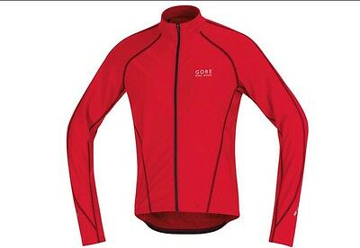 Mens Gore Contest Long Sleeve Thermo Cycling Jersey, Size L, BNWT