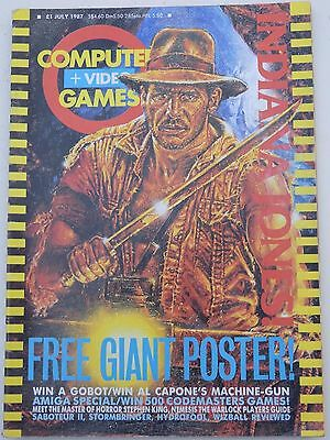 Computer and Video Games Magazine C&VG July 1987 (no poster)