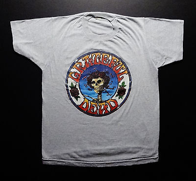 Grateful Dead Shirt T Shirt Vintage 1984 Stanley Mouse Alton Kelley Bertha '78 L