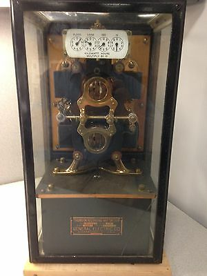 Thompson recording watthour meter circa about 1913