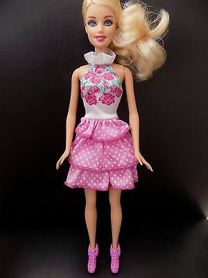 Barbie Fashionistas beautiful summer Ra Ra dress & shoes DOLL NOT INCLUDED