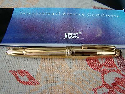 MONTBLANC MEISTERSTRUCK 146 LEGRAND SOLID GOLD 18kt./750 FOUNTAIN PEN