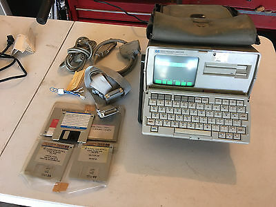 HP AGILENT 4952A 18160A RS 232C Protocol Analyzer w/ Accessories (TESTED)