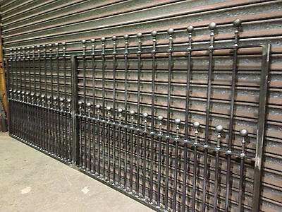 Brand New Wrought Iron Driveway Gates  4Ft High