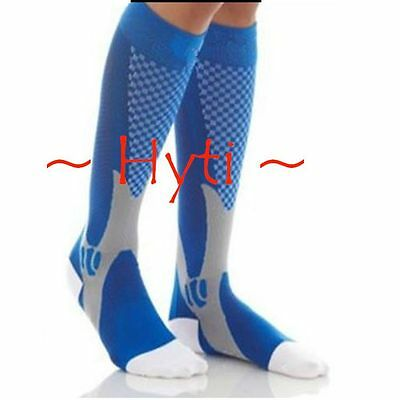 Medical Graduated 30mmHg Unisex Varicos Knee Smart Compression Recovery Stocking