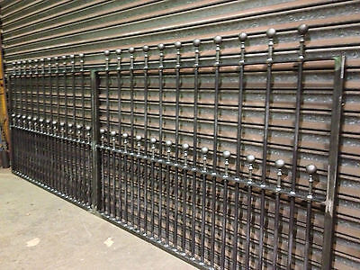 Brand New Wrought Iron Driveway Gates  6Ft High