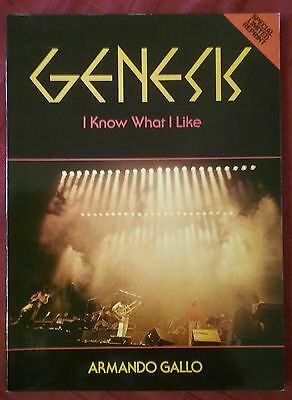Genesis I Know What I Like by Armando  Gallo.Special Limited Reprint Edition.