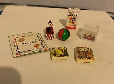 Dollhouse Miniatures Toys & Games Jack Innthe Box Ball Cootie