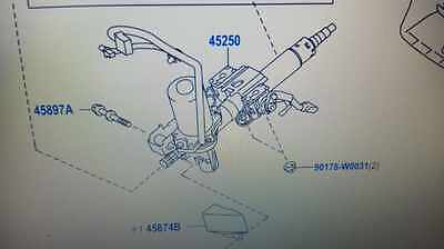 Toyota AURIS Diesel Petrol STEERING COLUMN How to Repair FIX rattle knock 2007>