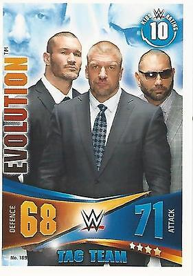 Topps Slam Attax Rivals Evolution Card No.189 Mint Condition