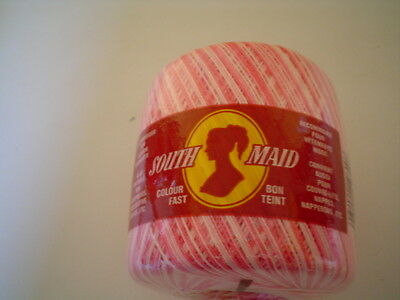 Southmaid Crochet Cotton Thread Size 10 Shades of Pink Lot  739