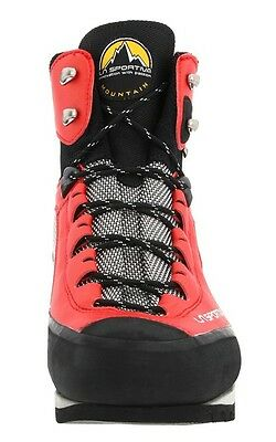 LA SPORTIVA trango red mountaineering climbing hiking boots 42.5 u.s. mens 9.5