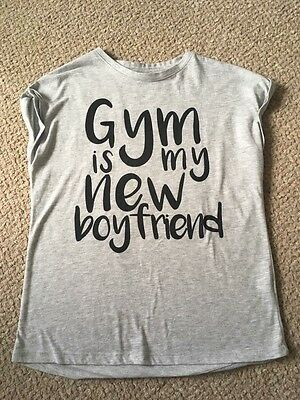 Cute Gymnastics T Shirt! Size 8
