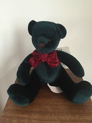 "Russ Kensington Teddy Bear Green  Razzles 7"" Inch Bears From The Past"