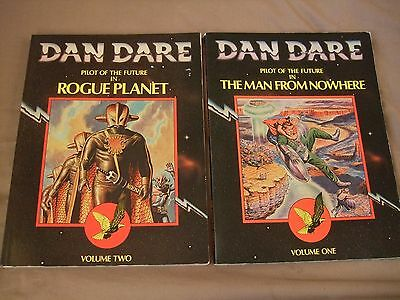 Dan Dare vol 1 & 2 - The Man From Nowhere & Rogue Planet