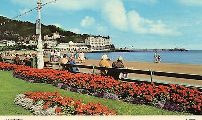 Postcard Llandudno  real photograph posted L0898