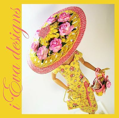 Vintage Sunny dress handmade fashion outfit OOAK Victoire Roux Silkstone