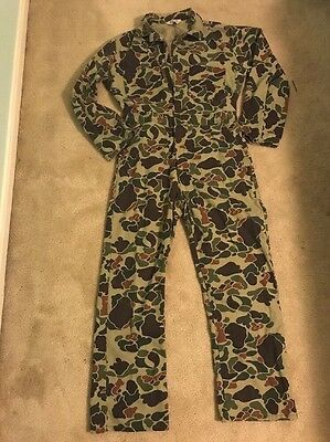 BAPE STYLE Mens Medium Walls Unlined Camouflage Coveralls Camo Jumpsuit