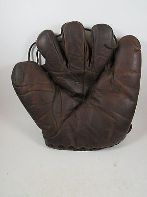 Vintage Horace Partridge Babe Pinelli baseball glove