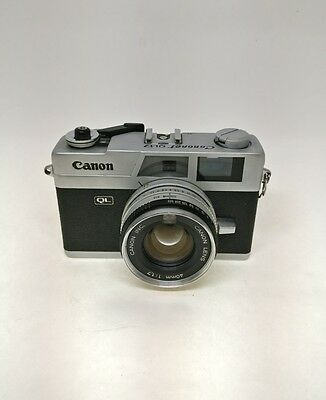 Canon Canonet QL17 w/40mm 1.7. Very good condition but Lightmeter not working